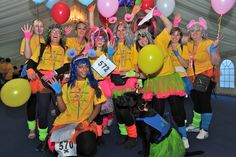 There were some fantastic teams at our 2011 night time walk.