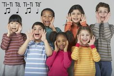 Tuneful Tuesday! Musically Montessori #7 in my series of sequential curriculum activities for every day music. Rhythm Echoes, Funny Singing & Learning a New Song
