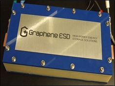 Canadian company presents prototype graphene supercapacitor battery Electronic News, Energy Storage, Hexagon Pattern, Quantum Physics, Future Tech, Storage Solutions, Toronto, Engineering, Presents