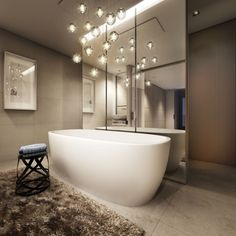 Modern Bathroom Chandelier