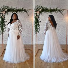 Plus Size Wedding Gowns, Wedding Dresses Plus Size, Wedding Bridesmaid Dresses, Plus Size Dresses, Short Dresses, Formal Dresses, Bodice, Neckline, Stella York