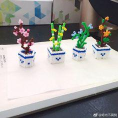 I think this is beautiful – Perlen Japan – Hama Beads Perler Bead Designs, Perler Bead Templates, Hama Beads Design, Diy Perler Beads, Perler Bead Art, Hamma Beads 3d, Fuse Beads, Pearler Beads, Melty Bead Patterns