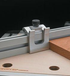 Veritas Flip Stops - Lee Valley Tools Carpentry Tools, Router Woodworking, Woodworking Workshop, Woodworking Projects Diy, Wood Projects, Router Accessories, Power Tool Accessories, Veritas Tools, Power Carving Tools