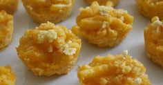Yummy, yum, yum.  These make awesome finger foods and awesome toddler foods! : :  Ingredients  : :   - mac and cheese di...