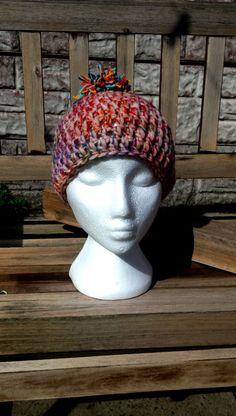 Bobble Hats, Pom Pom Hat, Handmade Items, Handmade Gifts, Winter Hats, My Etsy Shop, Crochet Hats, Beanie, Wool