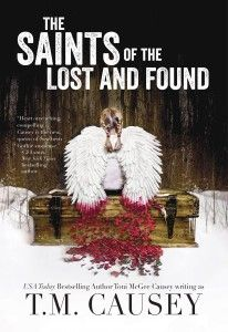 QUESTION: How did you come to write your new book The Saints of the Lost and Found?  T. M. Causey: One of the odd surprises of my life is that the thing you never expect to hit is the thing that hits, and in so many ways, that's what happened with Bobbie Faye. She was fierce and fun, and I loved giving my humor a wide field in which to play, from subtle to sarcasm, from irony to near slapstick (oh, who's kidding, tons of slapstick).