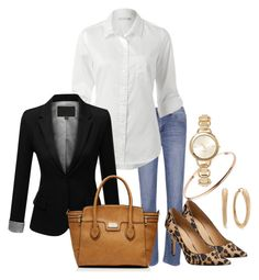 """""""At the Weekend - Casual"""" by annabouttown ❤ liked on Polyvore featuring Forever New"""