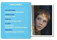 Dan Cahill, one of the main characters in The 39 Clues