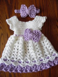 Best 11 Handmade Baby Crochet Dress and Headband Set by StonehouseGals – SkillOfKing. Crochet Baby Dress Pattern, Baby Girl Crochet, Crochet Baby Clothes, Crochet For Kids, Baby Summer Dresses, Girls Easter Dresses, Handgemachtes Baby, Baby Girls, Vestidos Bebe Crochet
