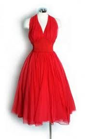 Google Image Result for http://www.prom-gown.net/wp-content/uploads/2011/05/1950s-Red-Chiffon-Halter-Bombshell-Dress.jpg