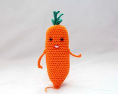 Set of Crochet Fruit and Vegetable