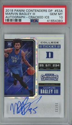 0b82e484a29 Contenders Derrick White Cracked Ice College Ticket RC Auto Condition is  Like New.