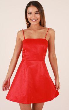 b1cbbead8c True Romance Dress in Red Produced By SHOWPO True Romance