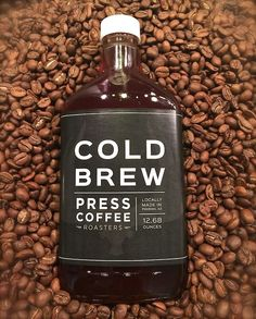 Press Coffee in Arizona releasing their amazing cold brew in an equally amazing package.