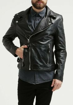 3b8c2b45e 57 Best leather jacket images in 2019 | Leather men, Leather jackets ...