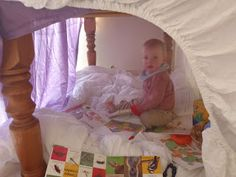 One of mine and my sisters favourite things to do when we were younger was building a den. They were usually very simple creations made out. Infant Activities, Den, Toddler Bed, Babies, Simple, Furniture, Home Decor, Child Bed, Babys