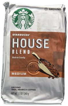 Starbucks Medium House Blend Ground Coffee 12oz -- Visit the image link more details.