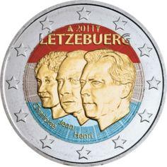 2 euro colorisé