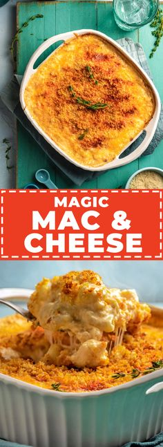 Magic Mac and Cheese is a no-boil, no-roux, and no-nonsense recipe for the richest and most flavorful baked mac of your life. Macaroni Cheese, Mac And Cheese, Best Pasta Dishes, Baked Mac, Pasta Shapes, Healthy Foods To Eat, Food Processor Recipes, Cooking Recipes, Favorite Recipes