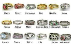 These are cool.. but where is Draco's ring?!?