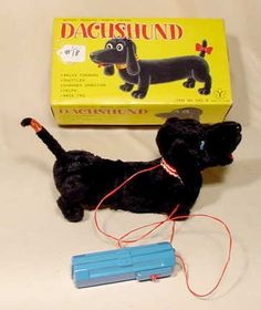 1950's Battery Operated Dachshund NR
