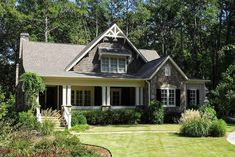 Captivating Craftsman Cottage - 70008CW | Architectural Designs - House Plans
