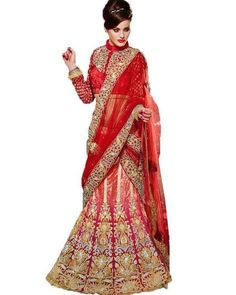 Bring out the Diva in you. Become extraordinarily stylish with #Lehenga collection on Ethnic Station. Shop now @ http://www.ethnicstation.com/women/lehenga-1/rust-bead-work-lehenga-PF1866