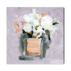 You'll love the 'L'Eau de Rose Lavender' Watercolor Painting Print on Canvas at Wayfair - Great Deals on all Décor & Pillows products with Free Shipping on most stuff, even the big stuff.