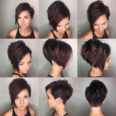 45 Inspiring Pixie Undercut Hairstyles, The pixie undercut trend continues to be a favorite amongst women who love pixie. Few words enough to describe pixie undercuts; brave and full of fun. Undercut Hairstyles, Pixie Hairstyles, Pixie Haircut, Black Hairstyles, Natural Hairstyles, Pretty Hairstyles, Great Hair, Hair Today, Hair Dos