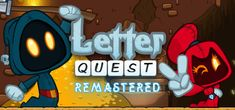 The grim reapers Grimm and Rose need your help to defeat a legion of monsters, ghosts, and evil bunnies using the power of words! Letter Quest Remastered is the remake of the Bacon Bandits' first game, now with an endless mode, new soundtrack, and fully animated monsters!
