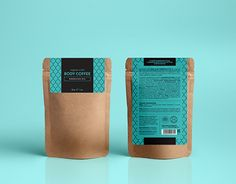 Argan Body Scrub packaging for Huilargan - moroccan organic cosmetic brand Rice Packaging, Kraft Packaging, Pouch Packaging, Skincare Packaging, Food Packaging Design, Paper Packaging, Coffee Packaging, Pretty Packaging, Packaging Design Inspiration