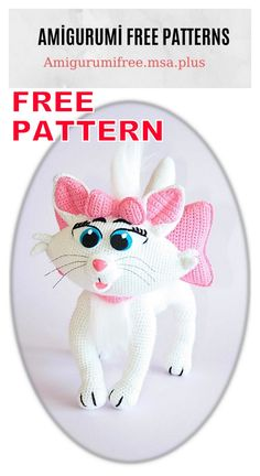 In this article I will share with you amigurumi cute cat free crochet pattern. We always keep you up-to-date with Amigurumi. Cat Amigurumi, Crochet Patterns Amigurumi, Crochet Dolls, Cat Pattern, Free Pattern, How To Start Knitting, Crochet Animals, Free Crochet, Cat Crochet