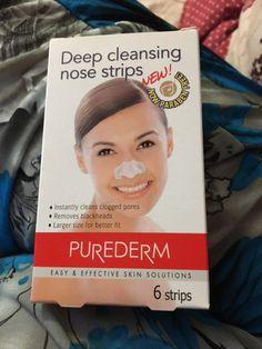 Purederm deep cleans