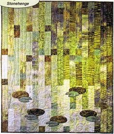Willow Stonehenge Pond Quilt Kit by Northcott