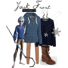"""Jack Frost (Rise of the Guardians)"" by teammortis on Polyvore"