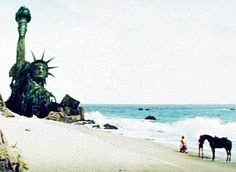 """PLANET OF THE APES (1968) -""""You maniacs!... You blew it up!... Ah, damn you!... God damn you all to hell!!"""""""