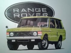 Range Rover Classic Mk1 by devilsbone.deviantart.com on @DeviantArt