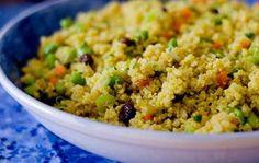 カレー風味のキヌアと枝豆のサラダ