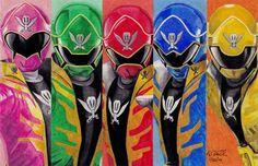 Power Rangers Super Megaforce by 11thdoctorwho.deviantart.com on @deviantART