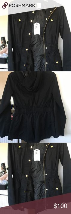 NWT guess jacket NWT make me an offer please understand that posh takes out a percentage. Guess Jackets & Coats
