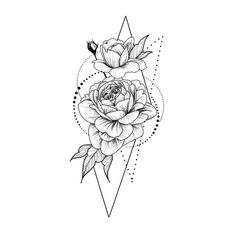 Roses in geometry Temporary Tattoo / Dots lines flash tattoo.- Roses in geometry Temporary Tattoo / Dots lines flash tattoo / Drawing flower Rosebud / Female Thigh tattoo Festival accessory Gift for Her Cute bracelet tattoo - Tattoo Design Drawings, Tattoo Sketches, Rose Drawing Tattoo, Mandala Tattoo Design, Geometric Tattoo Drawings, Tattoo Outline Drawing, Small Mandala Tattoo, Art Drawings, Thigh Tattoo Designs