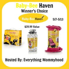 Bloom Into Baby: Baby Beehaven Giveaway - Ends 5/13