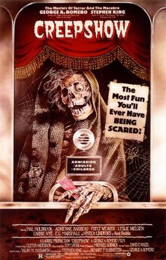 Creepshow (1982); saw this one when I was in high school on videodisc; loved the Leslie Nielsen and E.G. Marshall segments best.