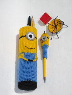Minion pencil case