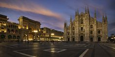 https://flic.kr/p/K9taKQ | Dusk at the Duomo | Milan Italy