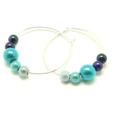 Blue Spectrum - Disco Beadsfunky, shiny jewellery for cool people everywhere