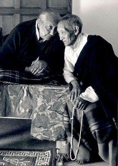 Kalu Rinpoche and Dilgo Khyentse Rinpoche.