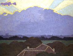 Félix Vallotton, Nuage à Romanel (1900)