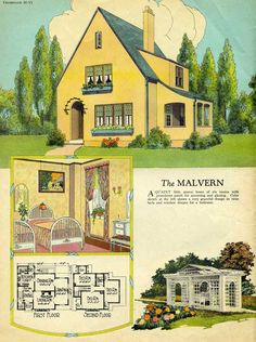 1925 Radford    Malvern Love The Design Of The House, But This Print Would