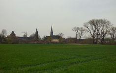 Blick auf die Türme von Zons, Foto: S. Hopp